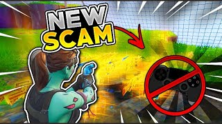 *NEW SCAM* Turn Scammers Controller Off! (Scammer Gets Scammed) Fortnite Save The World