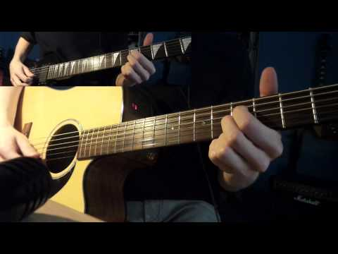 Opeth - Beneath the Mire (cover - All guitars)