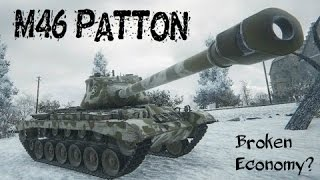 M46 Patton Perfect Game/Broken Economy - Stream Highlight - World of Tanks Blitz