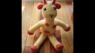 How To Read A Crochet Pattern #5 Amigurumi Giraffe