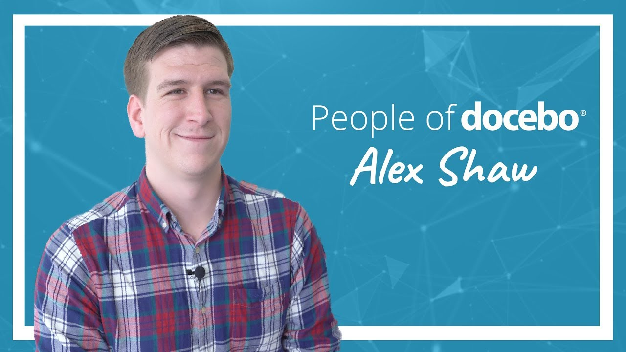 People of Docebo | Alex Shaw