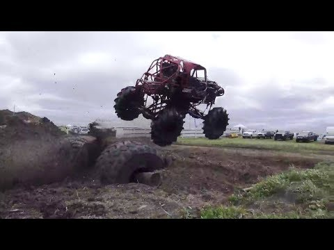 Big Red Buggy Takes The Win At Offroad Rivals