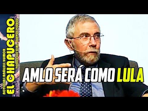 ¡ASÍ DEFENDIÓ! Paul Krugman a AMLO. Sólo falta que PEÑABOTS le digan CHAIRO