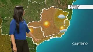 Previsão Sudeste – Nuvens aumentam em MG