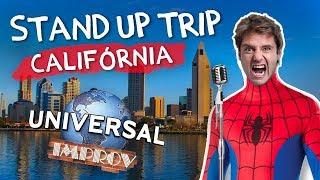 Fábio Rabin - Stand Up Trip Califórnia (Comic Con, Improv , Universal Studios)