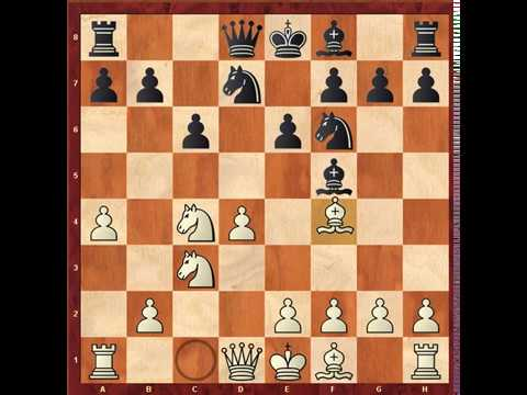 How to select moves in Chess (The Berliner`s method)