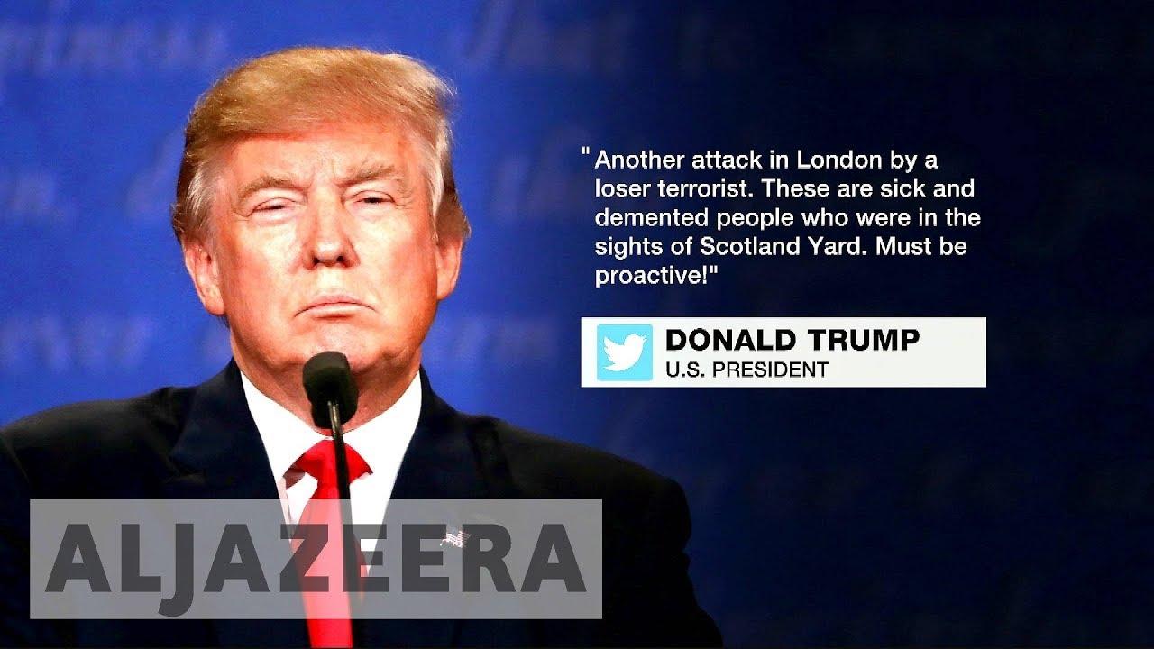 British police condemn Trump's tweets after London attack