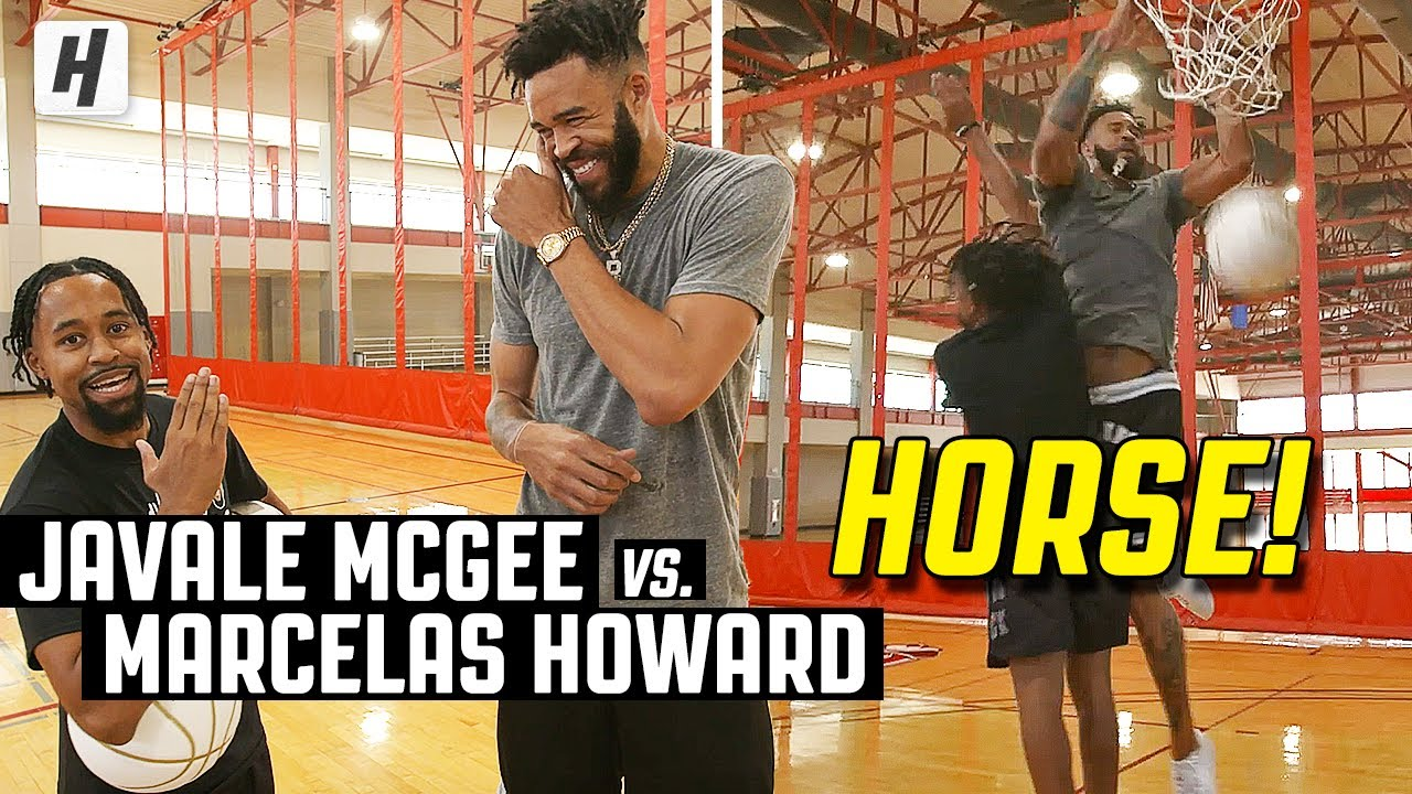 "JaVale McGee vs. Marcelas Howard | King of ""H.O.R.S.E"""