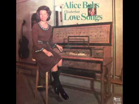 1971 - Alice Babs - Elizabethan Love Songs