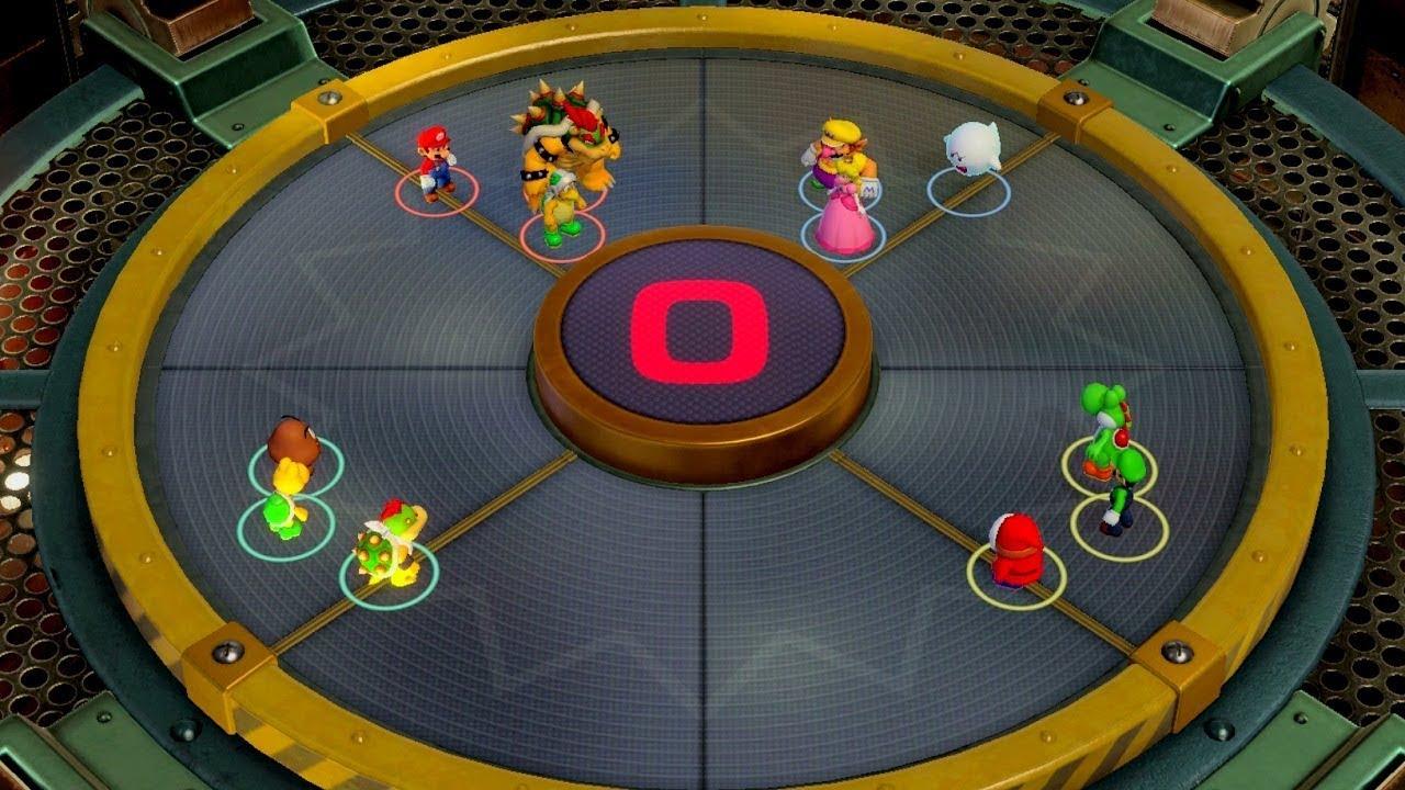 Super Mario Party - Challenge Road World 2 - Chestnut Forest