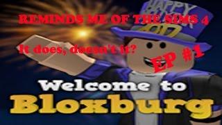 POURQUOI CELA ME RAPPELLE-T-IL LES SIMS!? | Gameplay DE ROBLOX (fr) Bloxburg (Bloxburg)