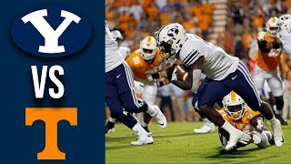 Week 2 2019 BYU vs Tennessee Full Game Highlights
