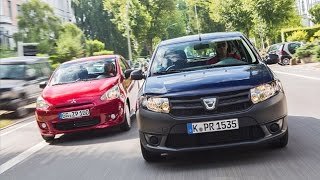 Dacia Sandero vs. Mitsubishi Space Star