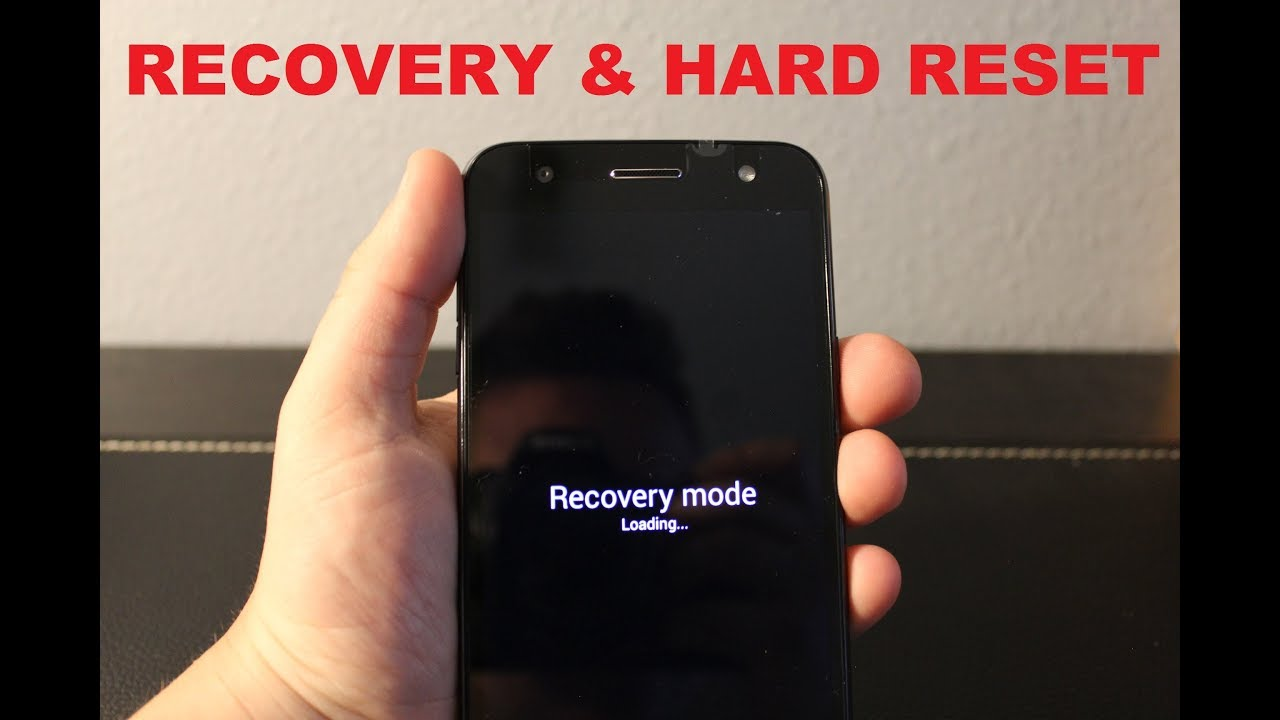 LG X charge : Recovery Mode & HARD RESET