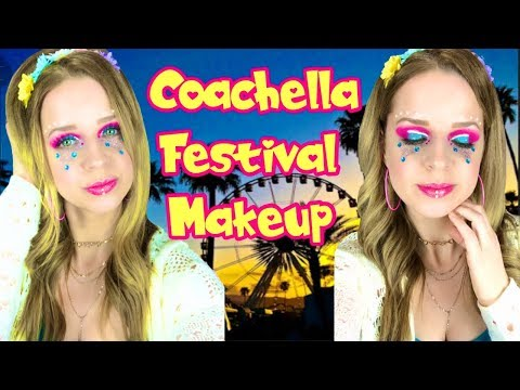 Coachella festival makeup/James Charles palette thumbnail