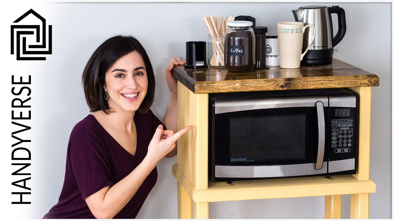 Build Your Own Kitchen Cart for Under $100 : EP 010