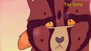 |Коты Воители| Ежевика и Белка клип Детство