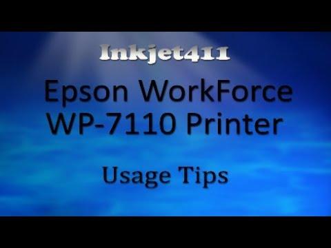 Epson WorkForce WP-7110 Printer (252 Ink Cartridge Tips)