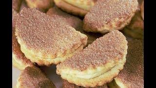 Невероятно Вкусное Печенье С Яблоками - Это Очень Нежно И Супер Яблочно!