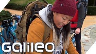 Der Schwebe-Rucksack im Test | Galileo | ProSieben