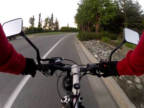 48 Volt Electric Bicycle Ride Using GoPro 960 48 FPS