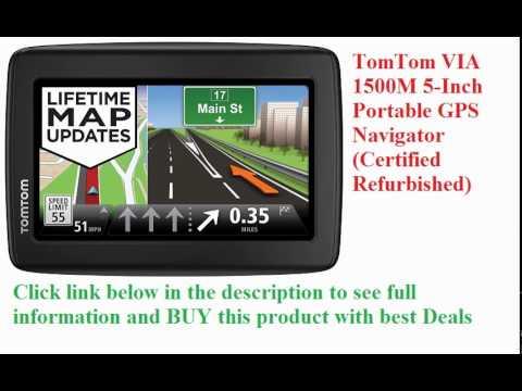 TomTom VIA 1500M 5-Inch Portable GPS Navigator - YouTube
