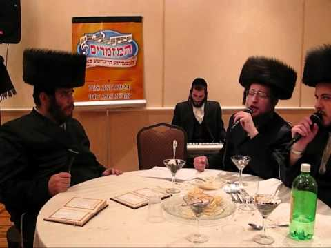 "Yissocher Gutman Sings ""Hiney Ze Bo"""