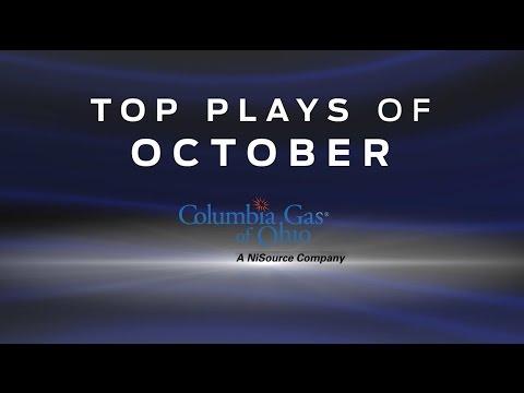 Columbia Gas Top Plays of October