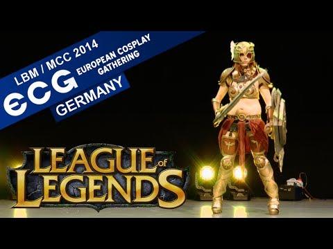 ENG DUB League of Legends  ECG Germany 2014 LBM  MCC Cosplay