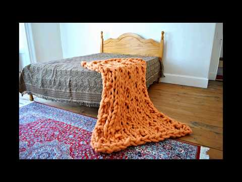 Andalusian Arm Knitted Blanket
