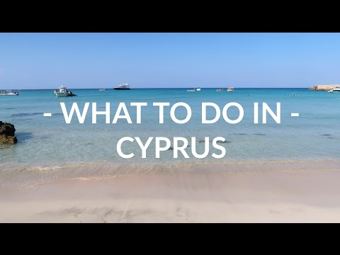 What To Do In Cyprus | Holiday Vlog | Georgie Minter Brown
