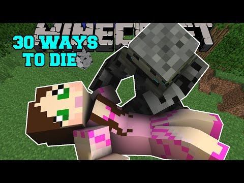 Minecraft: WEIRDEST DEATHS EVER! - 30 WAYS TO DIE - Custom Map [2]
