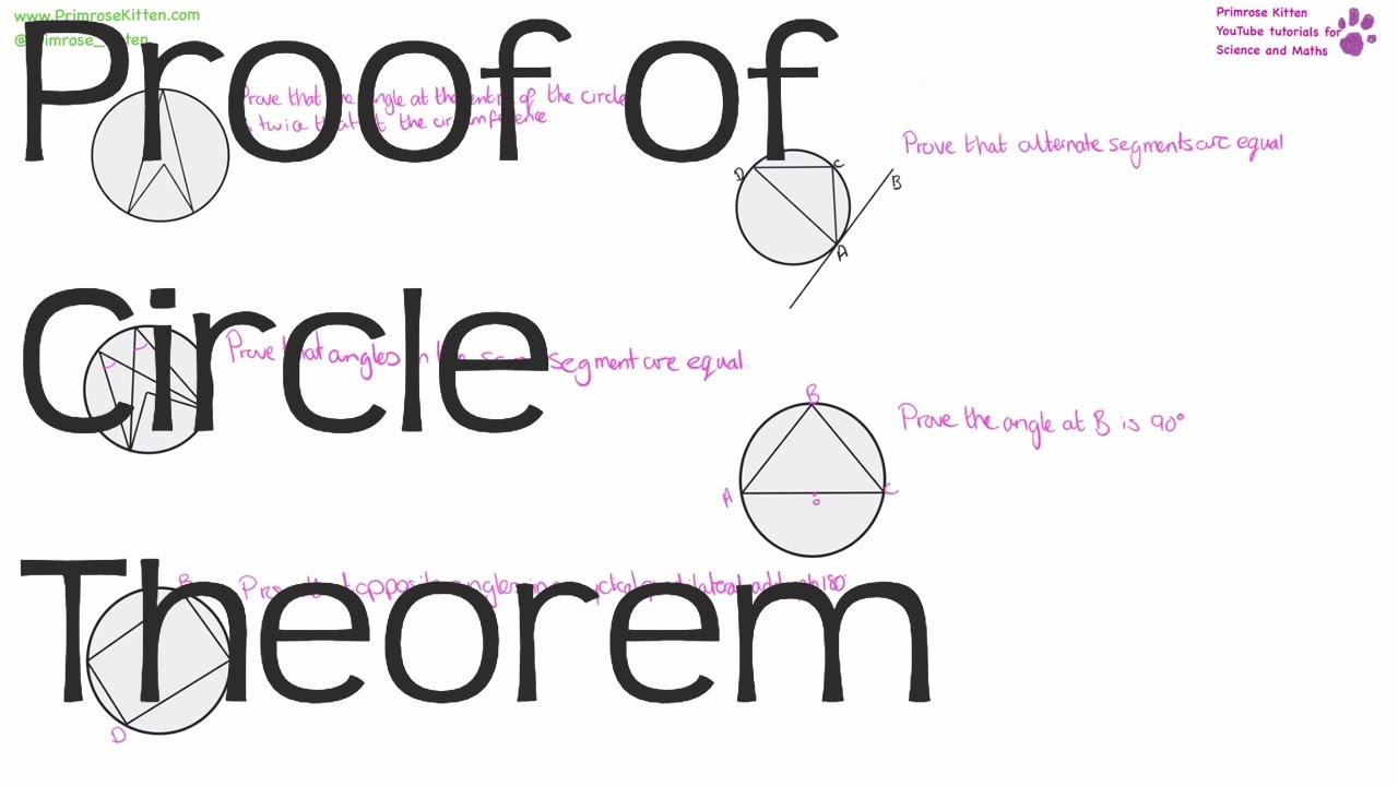 Proof of Circle Theorem | Maths GCSE and iGCSE Revision