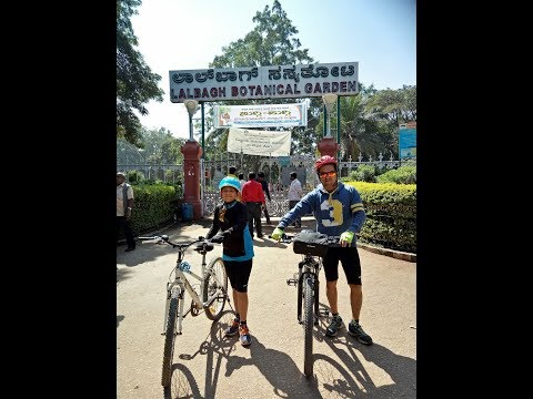 Lalbagh Gardens - A weekend cycling trip