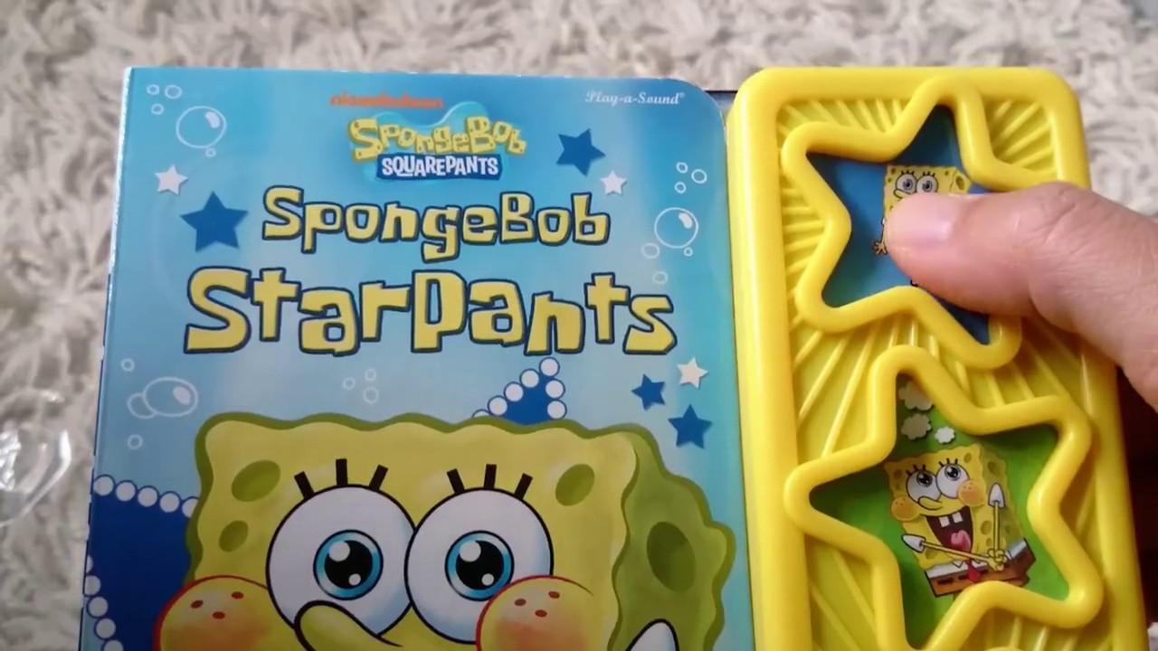 spongebob squarepants sound book u0026 plush toy by nickelodeon