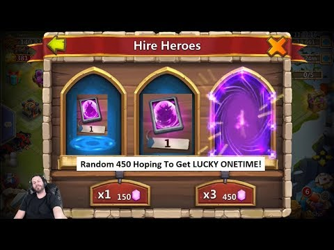 JT's Free 2 Play FREE Packs Event Hero Cards ONETIME! Castle Clash