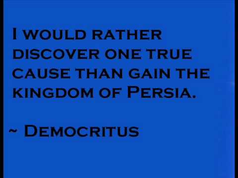 Wise words from Democritus, Greek Philosopher Quotes