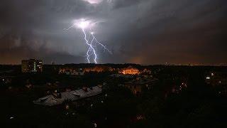 ураган в Москве торнадо в Московской области