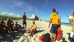 Typical Day as a Lack's Lifeguard, Myrtle Beach (GoPro Hero3 Black edition)
