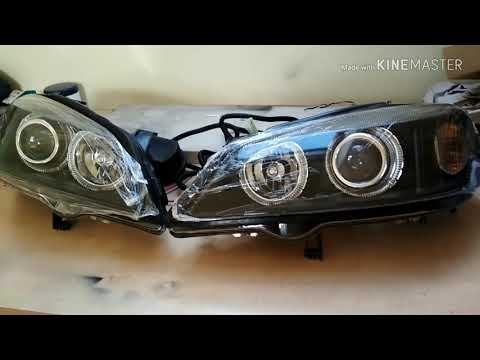 Opel Astra G Angel Eyes (unboxing)
