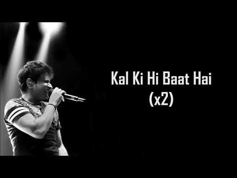 Download Lagu  Kal Ki Hi Baat Hai | Chhichhore | KK | Amitabh B | Pritam | Sushant , Shraddha , Varun , Naveen P | Mp3 Free