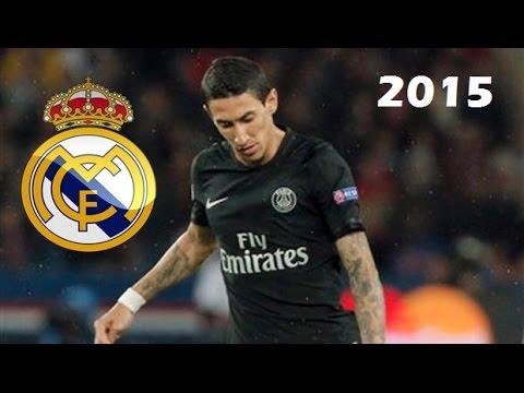 Angel Di Maria vs Real Madrid | Real Madrid vs PSG 1-0 | 2015/16 (CL away)