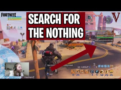 Search for The Nothing | Signal Strength | Canny Valley | Fortnite Save the World | TeamVASH