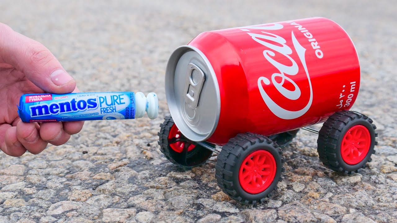 Coca-Cola Rocket with Mentos