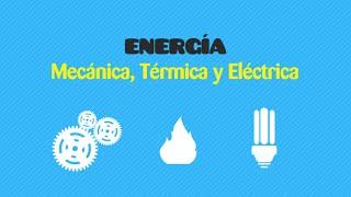 Física: Energía Mecánica, térmica y Eléctrica