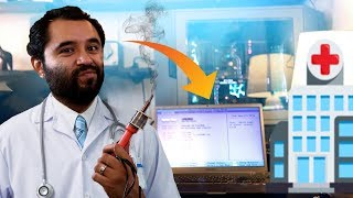 HW HOSPITAL EP.2 // DC Jack pin repair! // laptop