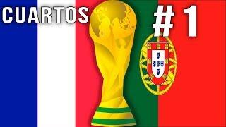 FIFA 18 Cuartos Francia vs Portugal