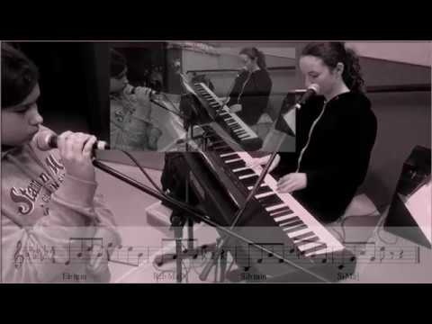 Attention  Chérine & Camille Piano (Charlie Puth)