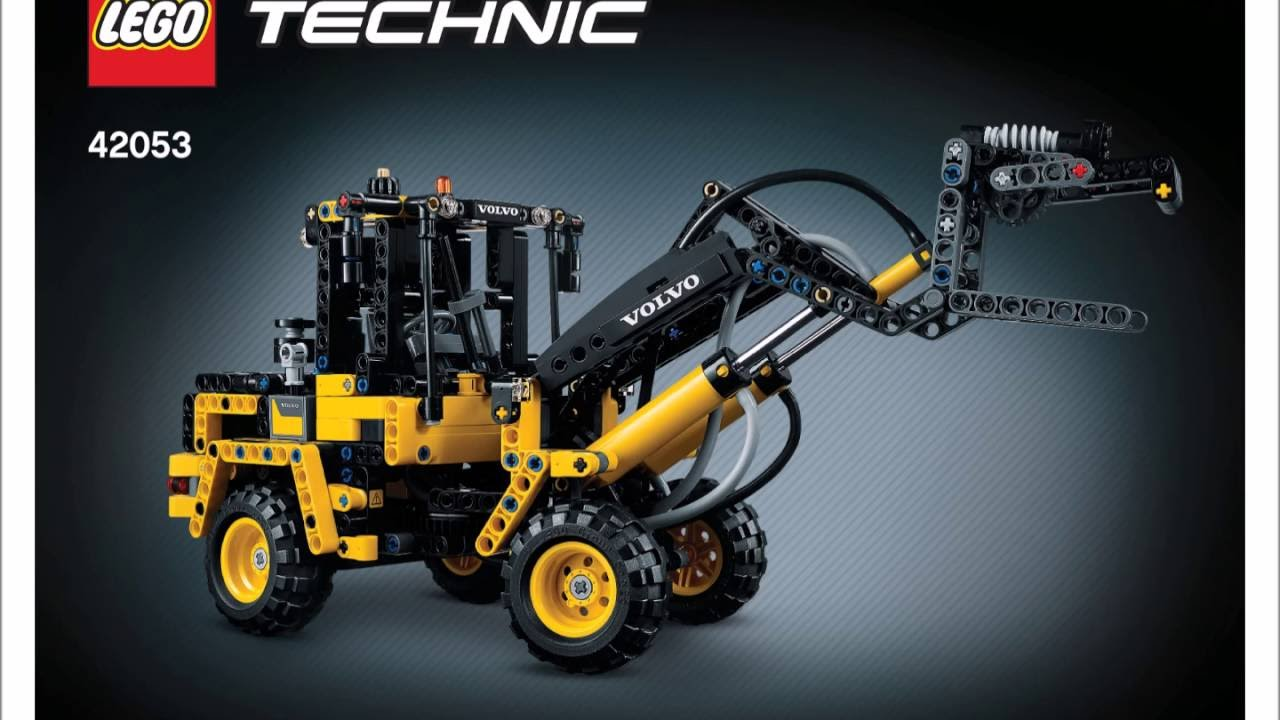 Lego Technic Schiffsschraube: LEGO 42053 Volvo L30G Instructions B Model LEGO TECHNIC
