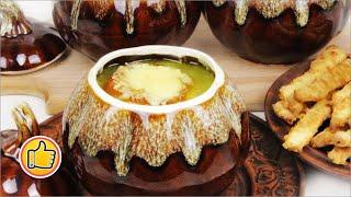 Французский Луковый Суп   French Onion Soup
